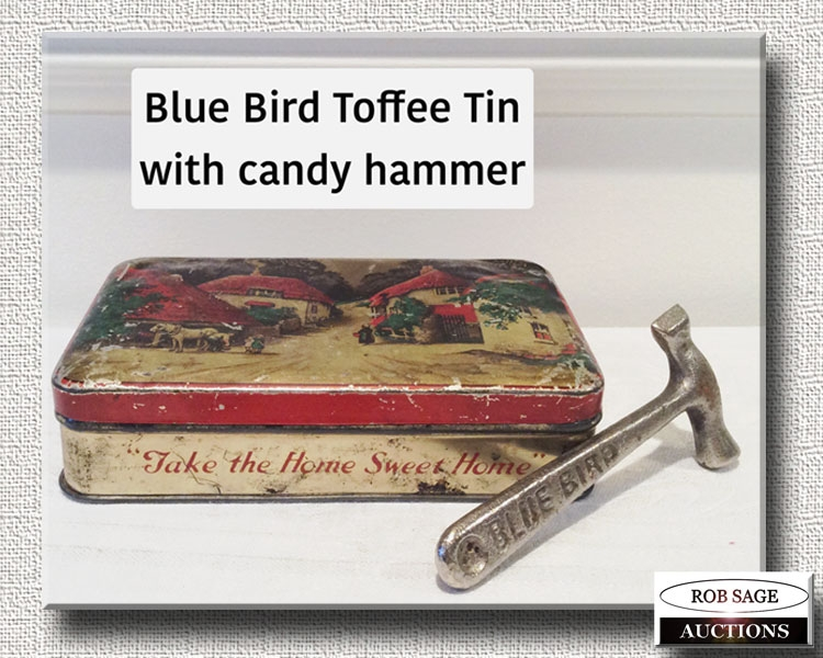 Toffee Tin & Hammer