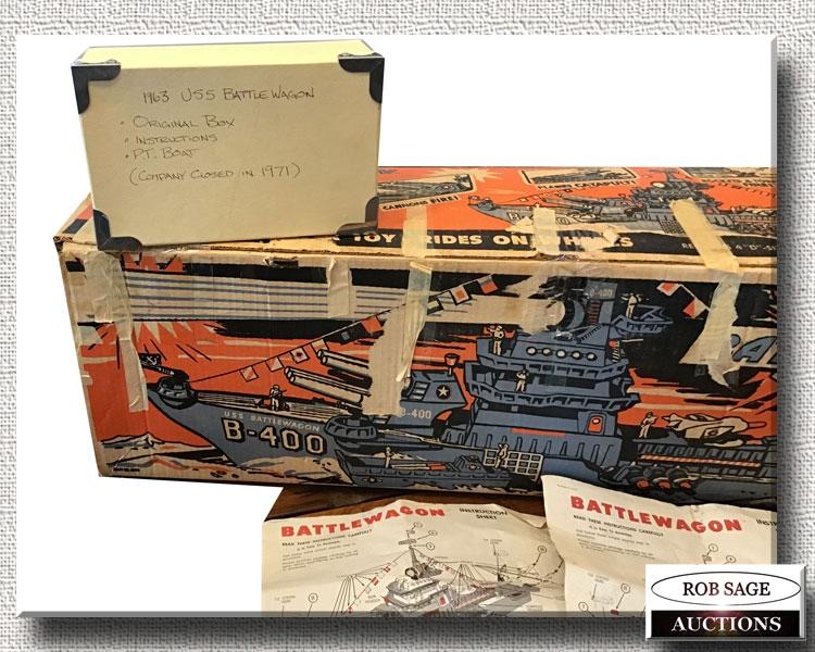 Model Ship Box