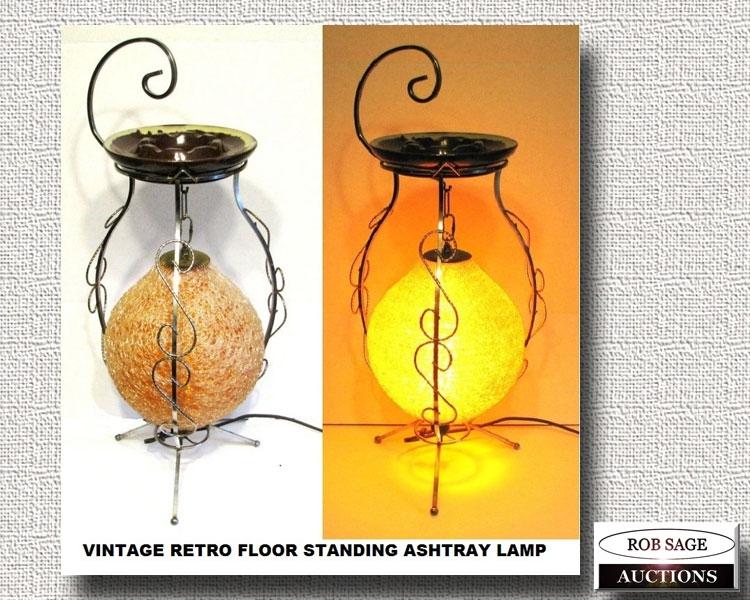 Retro Lamp/Ashstray