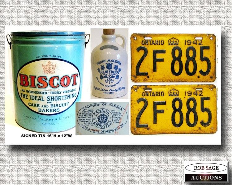 Tin/ License Plates