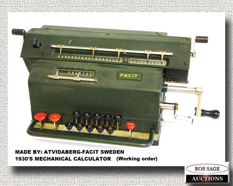 1930's Calculator