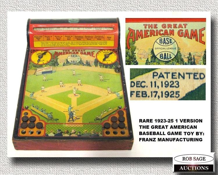 1920's Baseball Game