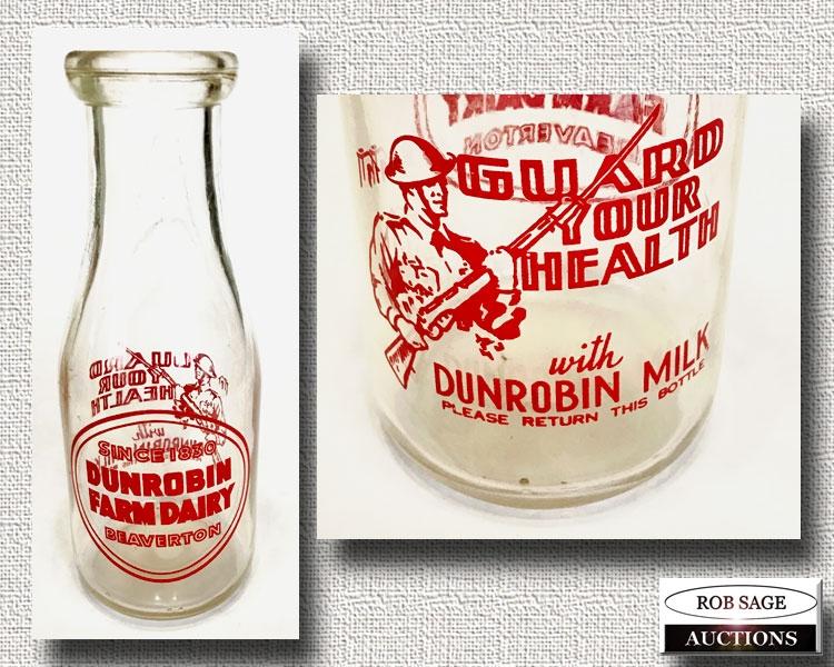 Beaverton Milk Bottle