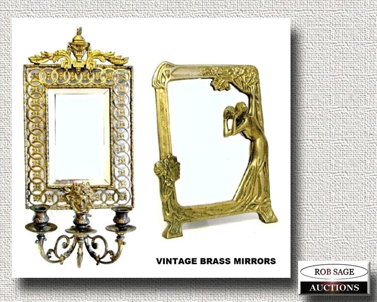 Brass Mirrors