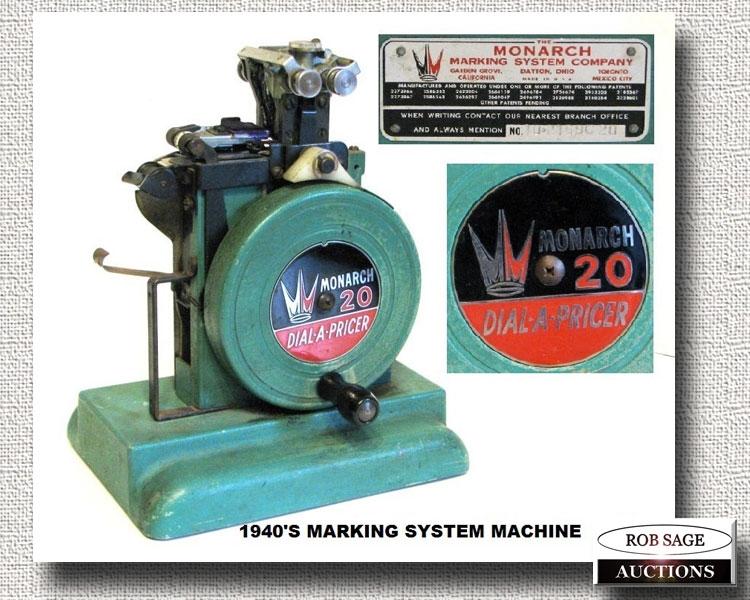 Marking System Machine