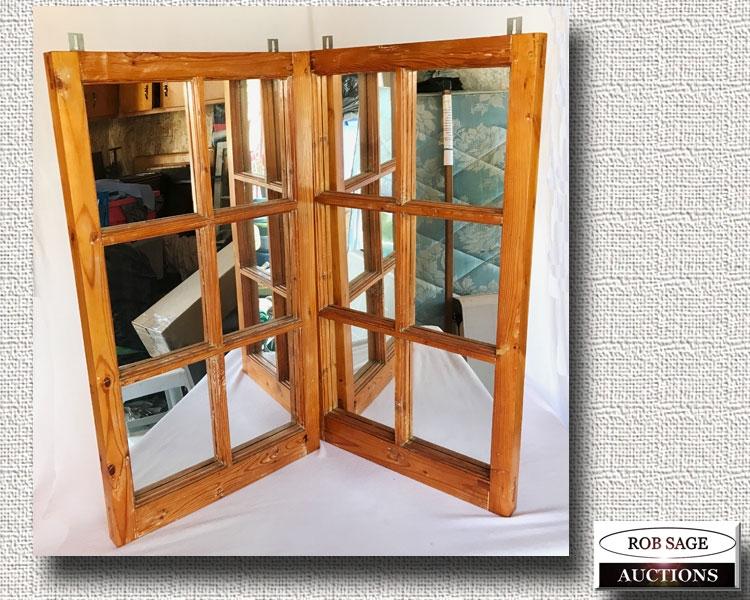 Pine Frame Mirrors