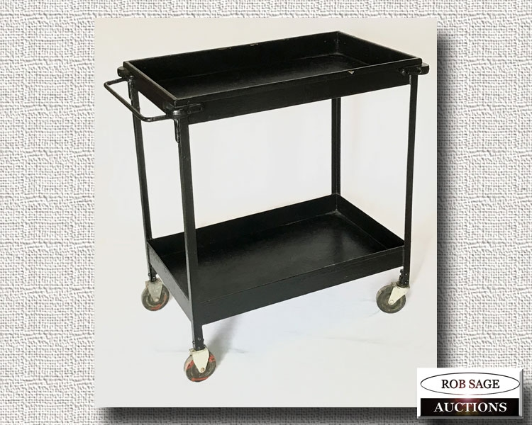 Metal Factory Cart