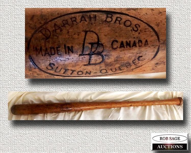 Darrah Bros Baseball Bat