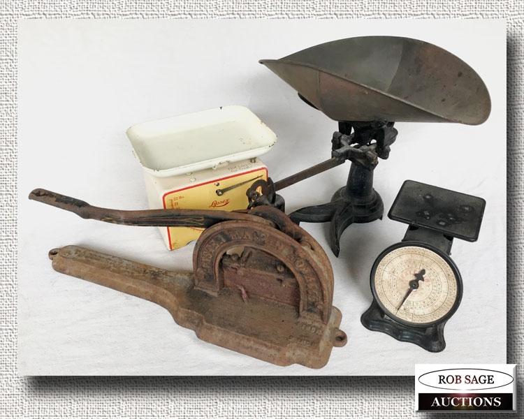 Scales-Tobacco Cutter