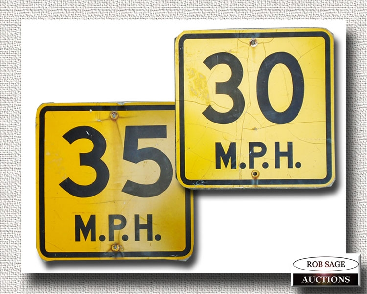 Early Speed Signs