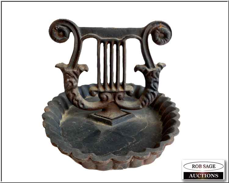 Cast Iron Boot Scrape