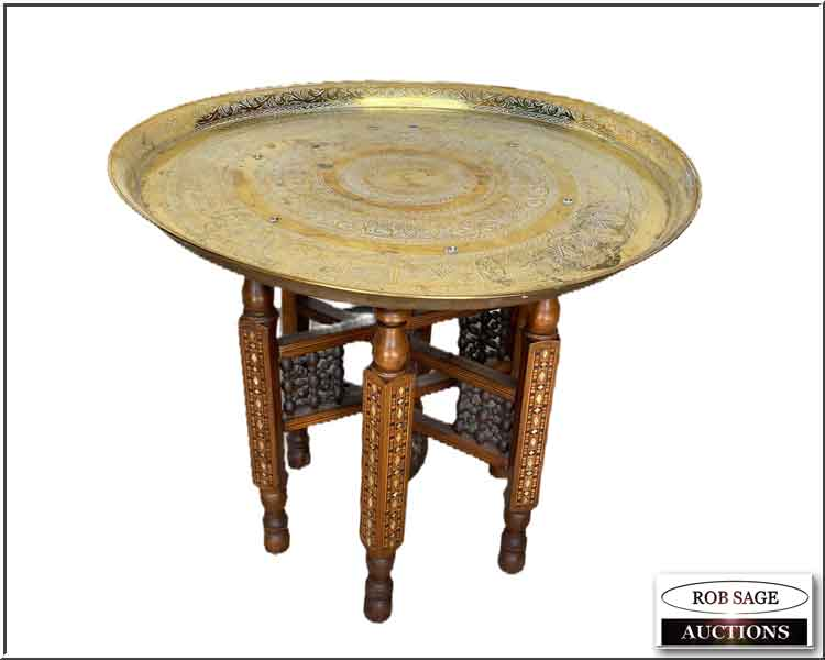 Brass Top Table