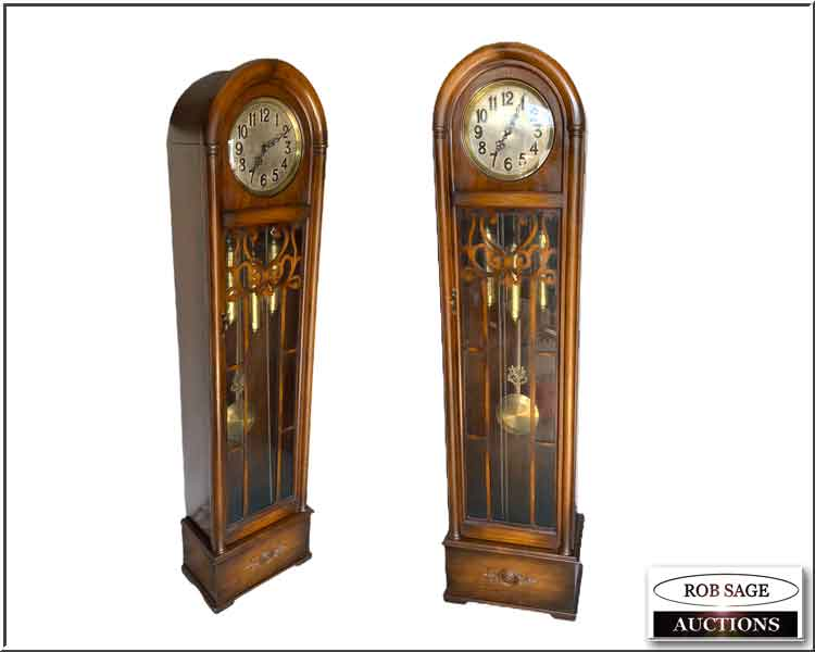 Walnut Long Case Clock
