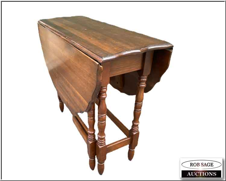 Walnut Drop Leaf Table