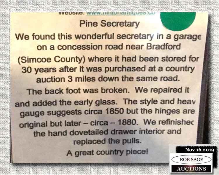 Secretary Details