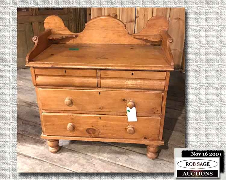 Pine Ogee Style Chest