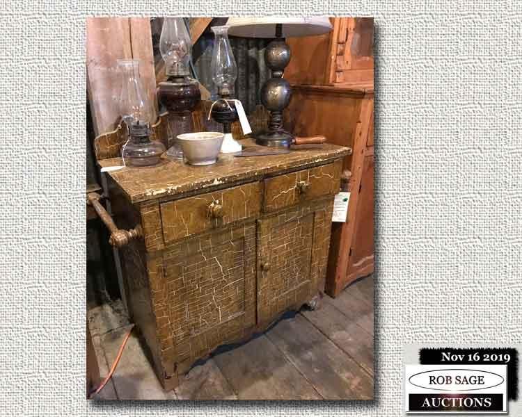 Original Paint Washstand