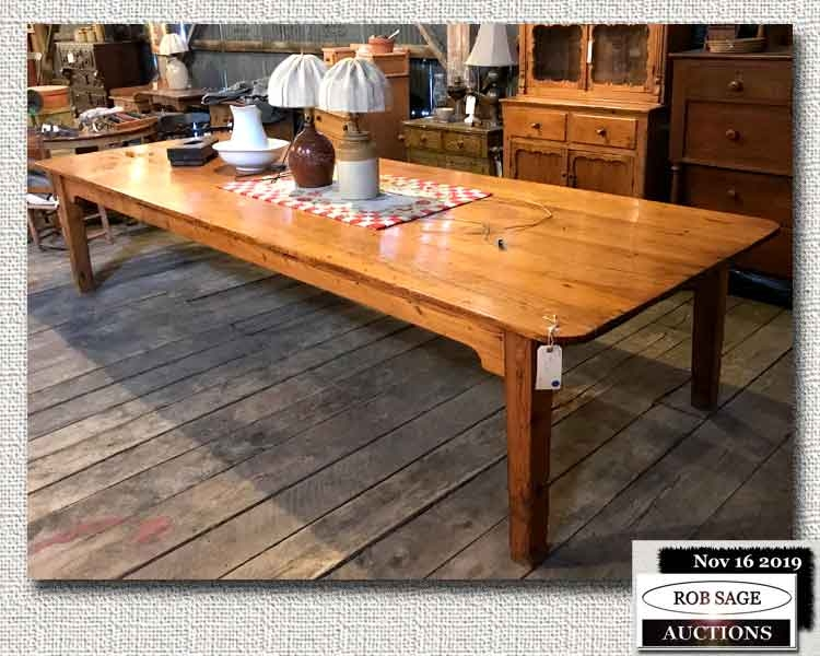 12' Pine Table