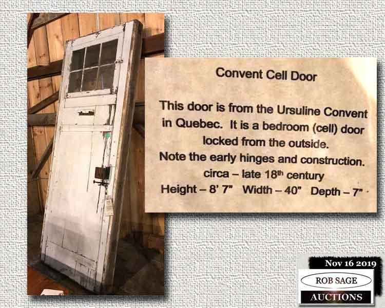 Convent Cell Door