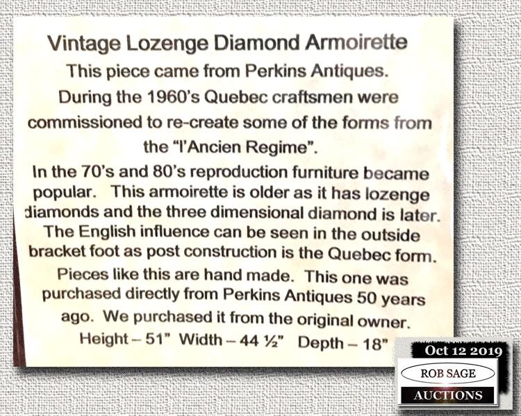 Armoirett Details