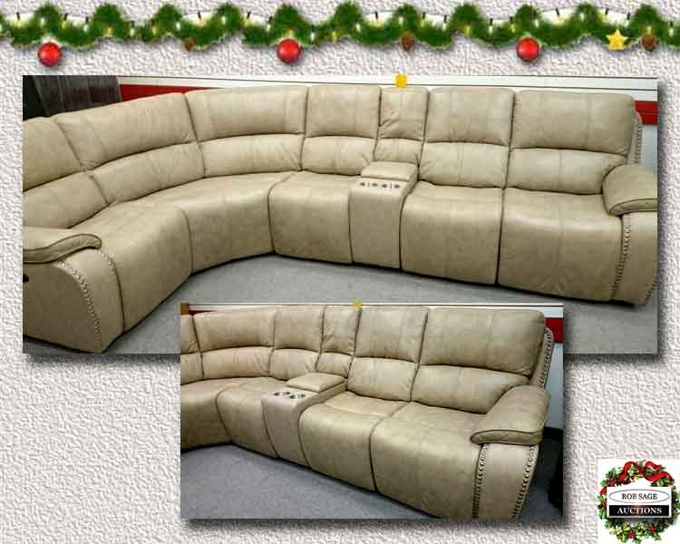 All Leather Electric Reclining