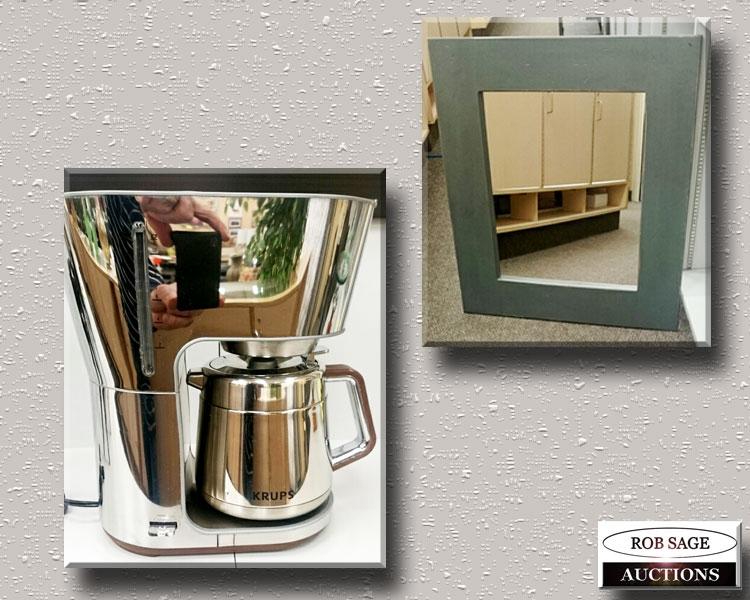 Coffee Maker/Pine Frame