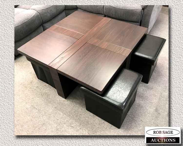 Coffee Table & Seats