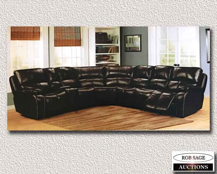 Leather, Power Sectional