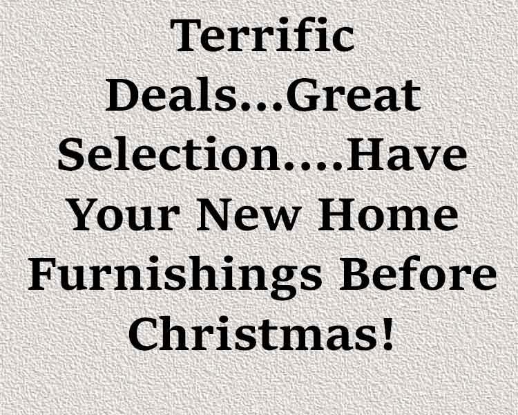 Terrific Deals!