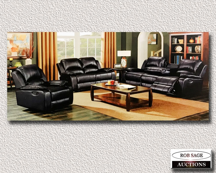 Three Pce Sofa Set