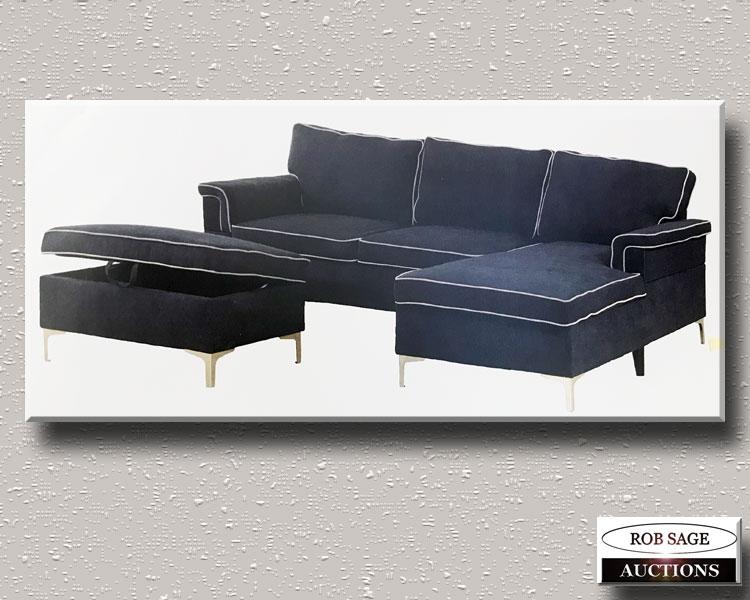 Sofa, Chaise & Ottoman