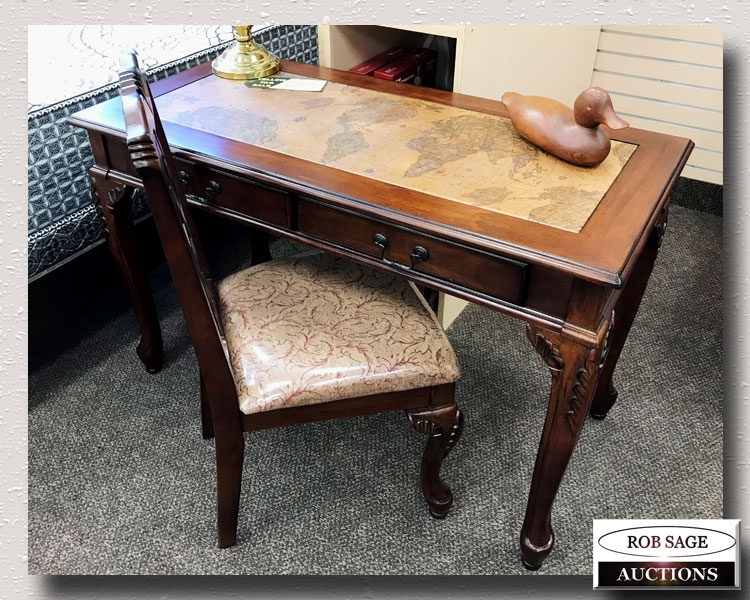 World Map Desk/Chair