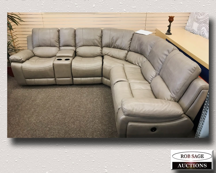 Electric Reclining Sectional