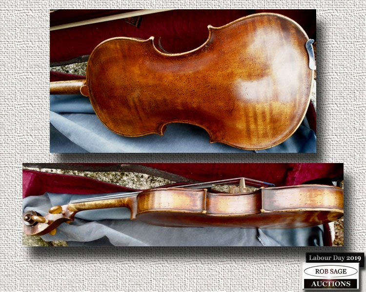 Violin Side & Back
