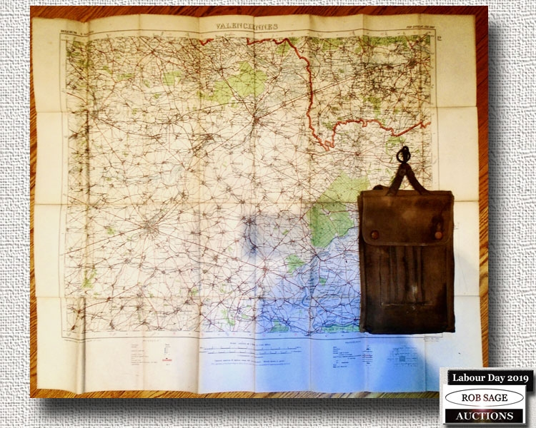 WW1 Ordinance Map