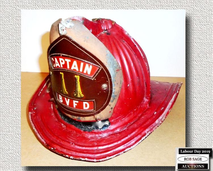 Captain's Fire Helmet
