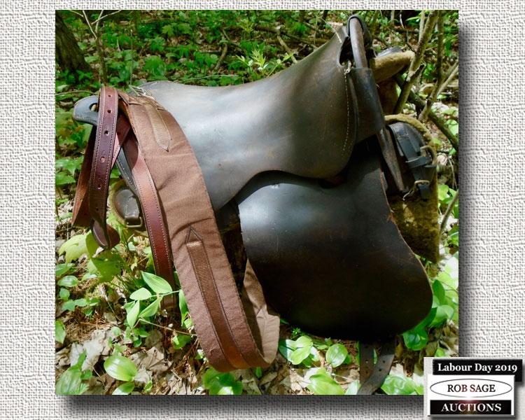 Boer War Calvary Saddle