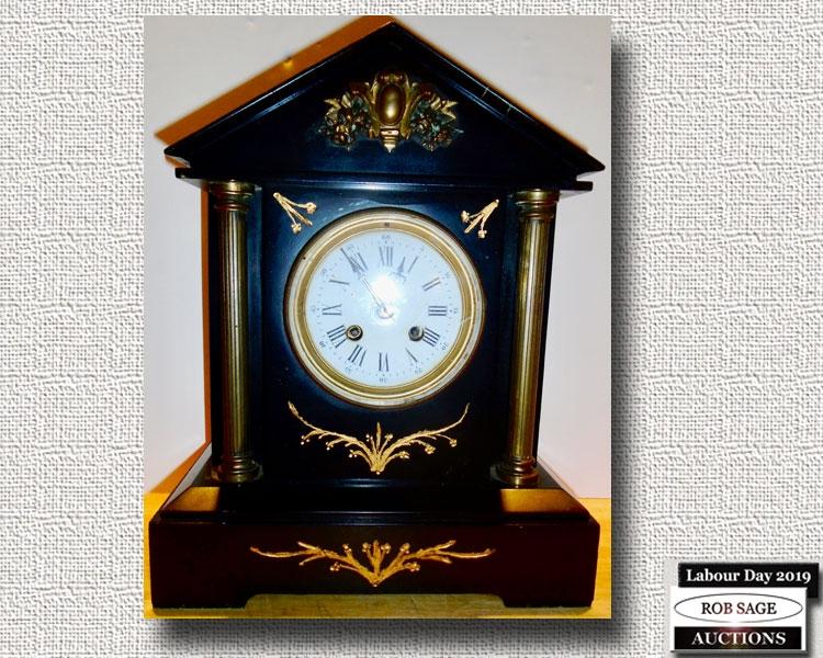 Marble Clock 1865