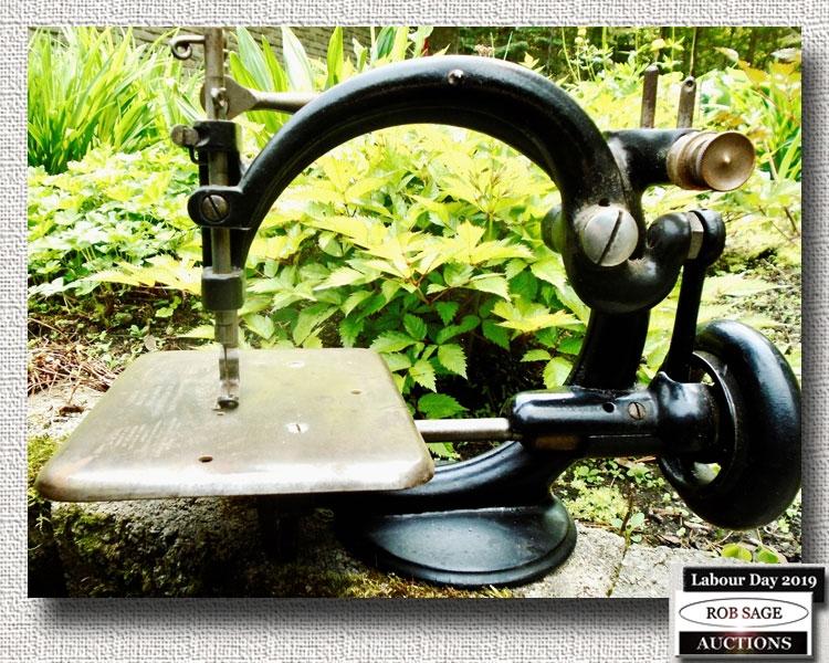 1869 Child's Sewing Machine