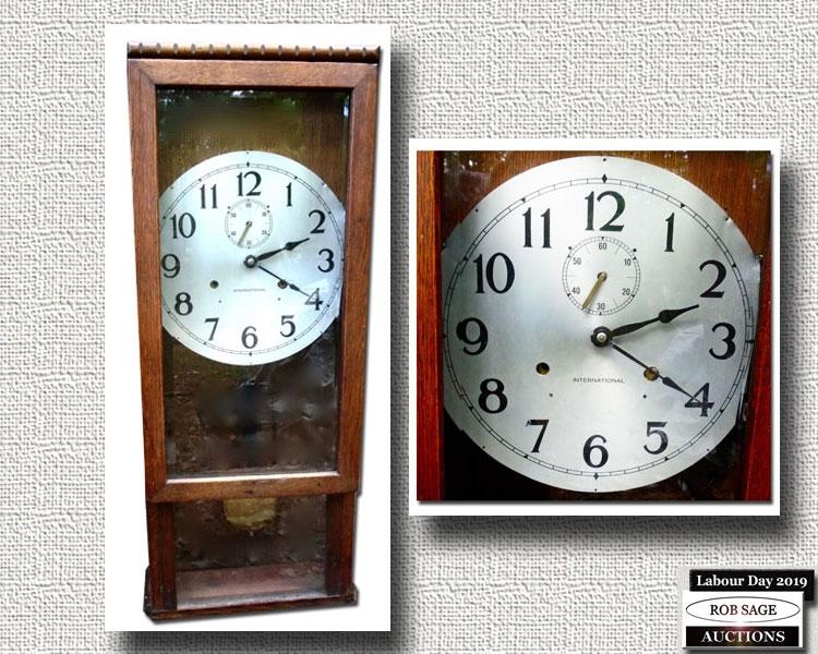 IBM Wall Clock