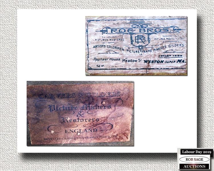Frame Back Labels