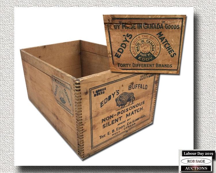 Eddy's Matches Box