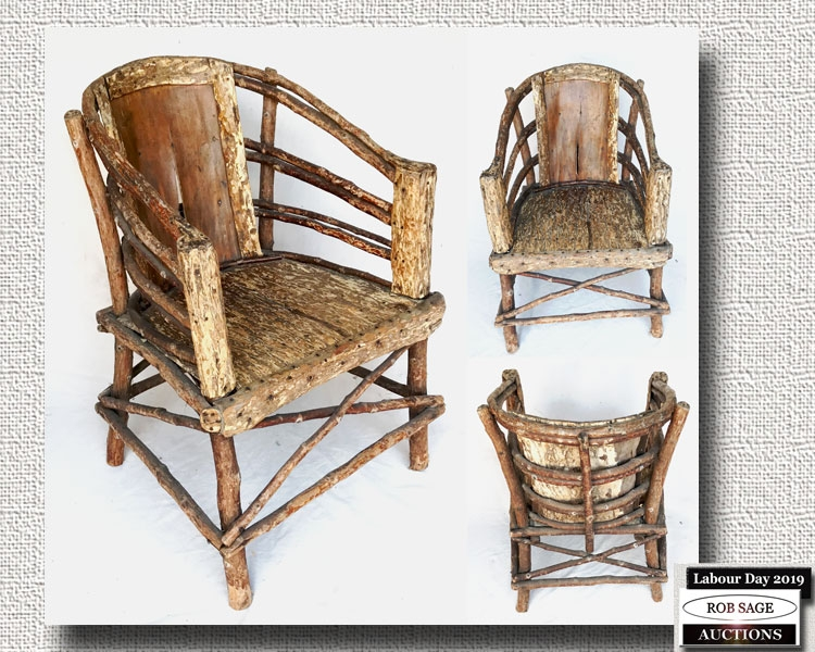 Indigenous Twig Chair