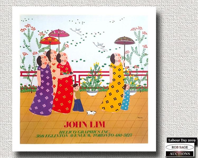 John Lim Lithograph