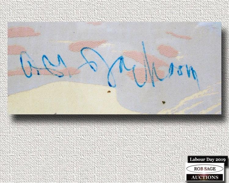 A Y Jackson Signature