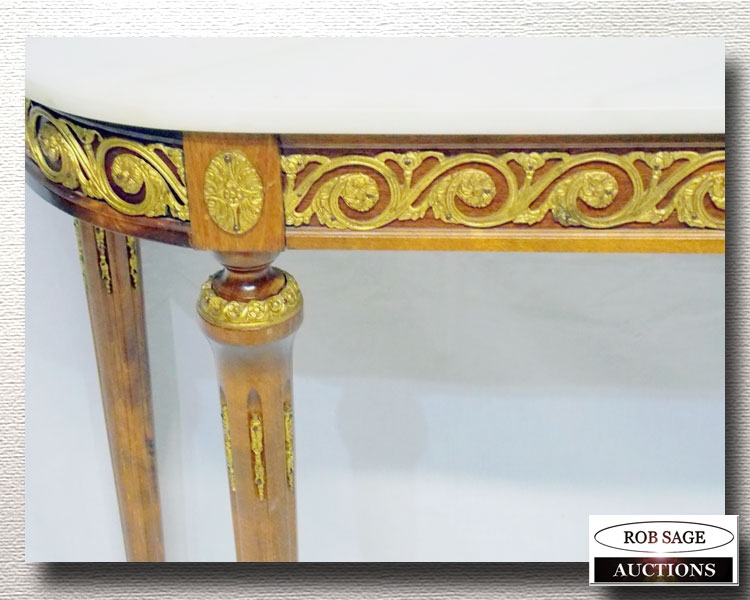 Console Table Closeup