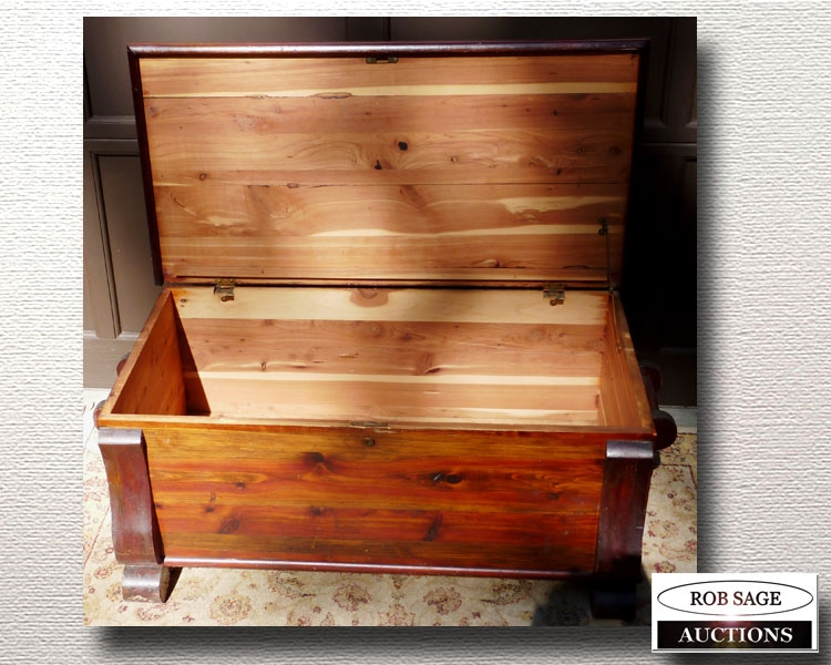Cedar Chest Closeup
