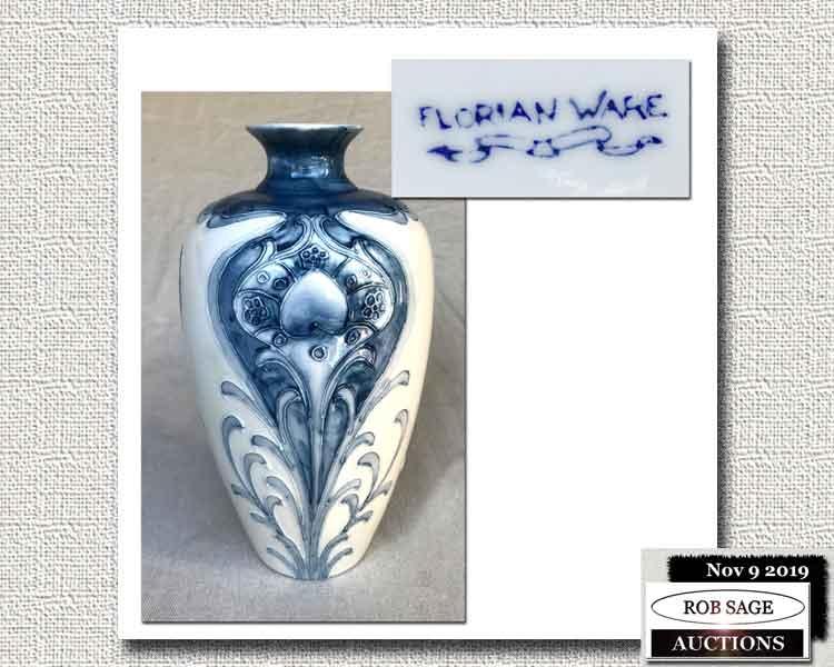"Florian Ware Vase 10"""