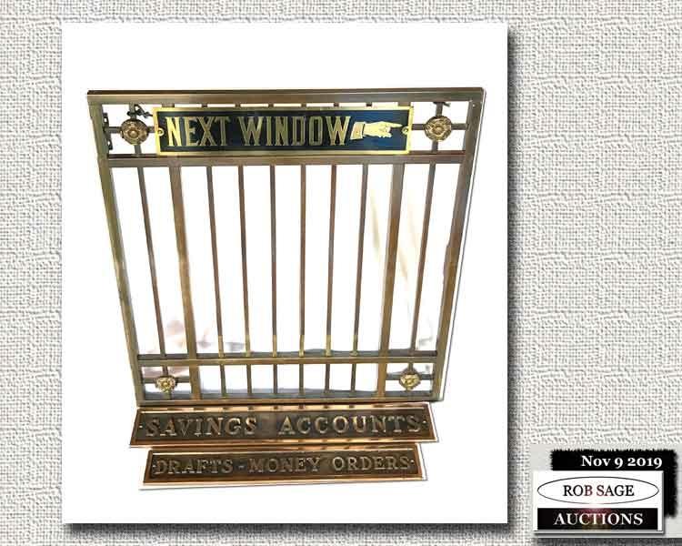 Brass Teller's Cage