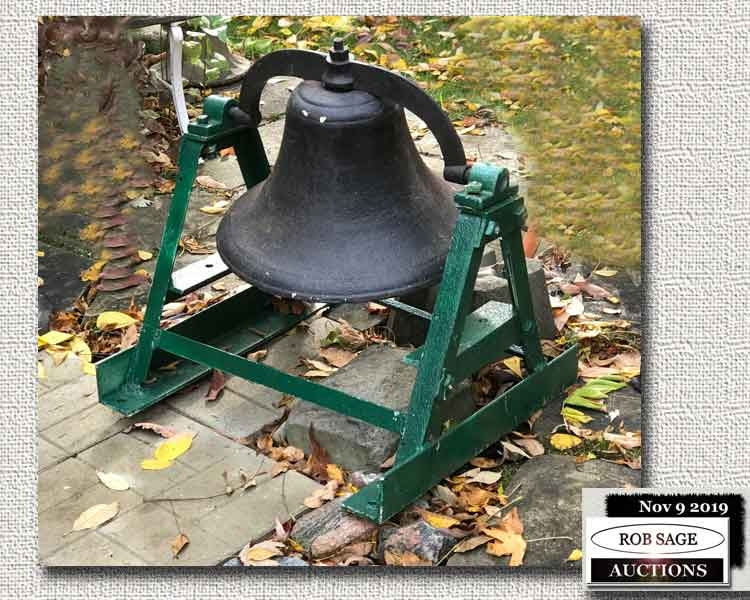 Cast Bell On Stand